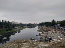 Ποταμός Turag Dhaka στοκ εικόνα