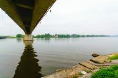 Ποταμός Tuxpan, Μεξικό στοκ εικόνες