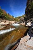 Ποταμός Vanchin. Φθινόπωρο. Ρεύμα 3. Στοκ φωτογραφία με δικαίωμα ελεύθερης χρήσης