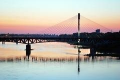 Ποταμός Vistula Στοκ φωτογραφία με δικαίωμα ελεύθερης χρήσης