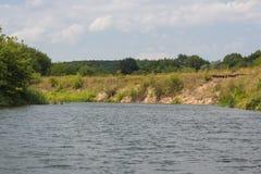 Ποταμός Vorona Στοκ Εικόνα