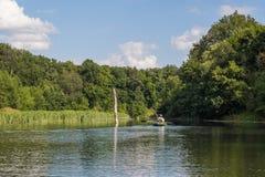 Ποταμός Vorona Στοκ εικόνα με δικαίωμα ελεύθερης χρήσης