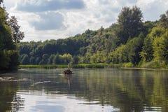 Ποταμός Vorona Στοκ φωτογραφία με δικαίωμα ελεύθερης χρήσης