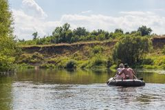 Ποταμός Vorona Στοκ Εικόνες