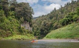 Ποταμός Whanganui Kayaking στοκ φωτογραφία
