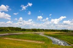 Ποταμός Wieprz Στοκ εικόνα με δικαίωμα ελεύθερης χρήσης