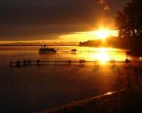 ποταμός Wisconsin αλεπούδων Στοκ Εικόνες