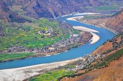 ποταμός yangtze στοκ εικόνες
