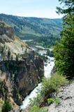 Ποταμός Yellowstone που βλέπει από την περιοχή πύργων στοκ εικόνα με δικαίωμα ελεύθερης χρήσης