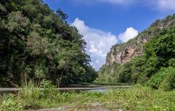 Ποταμός Yumuri Baracoa Κούβα Στοκ εικόνες με δικαίωμα ελεύθερης χρήσης