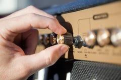 ποτενσιόμετρο χεριών Στοκ φωτογραφίες με δικαίωμα ελεύθερης χρήσης