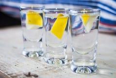 Ποτό βότκας Στοκ φωτογραφία με δικαίωμα ελεύθερης χρήσης