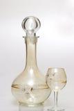 ποτό γυαλιού μπουκαλιών Στοκ φωτογραφία με δικαίωμα ελεύθερης χρήσης
