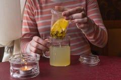 ποτό ζεστό Στοκ φωτογραφία με δικαίωμα ελεύθερης χρήσης