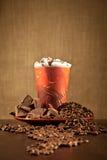 Ποτό καφέ σοκολάτας στοκ φωτογραφία