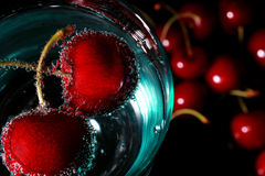 ποτό κερασιών Στοκ φωτογραφίες με δικαίωμα ελεύθερης χρήσης