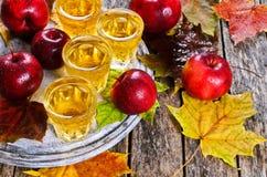 Ποτό μήλων Στοκ Εικόνες