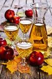 Ποτό μήλων Στοκ Φωτογραφίες