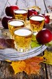 Ποτό μήλων Στοκ εικόνα με δικαίωμα ελεύθερης χρήσης