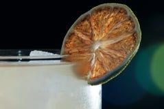 Ποτό με τον ασβέστη Στοκ εικόνα με δικαίωμα ελεύθερης χρήσης
