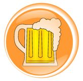 ποτό μπύρας Στοκ φωτογραφίες με δικαίωμα ελεύθερης χρήσης