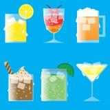 Ποτό πάγου: απόθεμα Στοκ Φωτογραφίες
