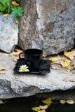 Ποτό στην πέτρα στοκ εικόνες με δικαίωμα ελεύθερης χρήσης
