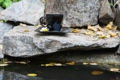 Ποτό στην πέτρα στοκ φωτογραφία με δικαίωμα ελεύθερης χρήσης