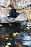 Ποτό στην πέτρα στοκ φωτογραφίες με δικαίωμα ελεύθερης χρήσης