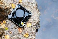 Ποτό στην πέτρα στοκ εικόνες