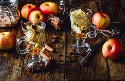 Ποτό της Apple Χριστουγέννων Στοκ Εικόνες