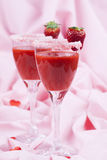 Ποτό 008 φραουλών βαλεντίνων Στοκ φωτογραφία με δικαίωμα ελεύθερης χρήσης