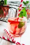 Ποτό φραουλών Στοκ Φωτογραφίες