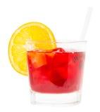 Ποτό Negroni Στοκ φωτογραφία με δικαίωμα ελεύθερης χρήσης