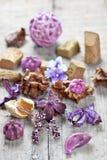 Ποτ πουρί που χρησιμοποιείται για aromatherapy Στοκ εικόνες με δικαίωμα ελεύθερης χρήσης