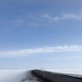 πουθενά δρόμος Στοκ Φωτογραφίες