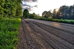 πουθενά δρόμος Στοκ φωτογραφία με δικαίωμα ελεύθερης χρήσης
