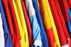 πουκάμισα ποδοσφαίρου Στοκ Φωτογραφίες