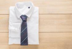 Πουκάμισο με τη γραβάτα Στοκ Εικόνες
