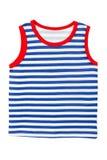 πουκάμισο ναυτικών κατσικιών ριγωτό Στοκ Εικόνα