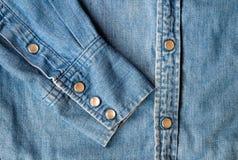 Πουκάμισο τζιν παντελόνι Στοκ φωτογραφία με δικαίωμα ελεύθερης χρήσης