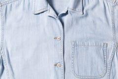Πουκάμισο του Jean στοκ εικόνα