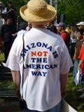 πουκάμισο τ μηνυμάτων στοκ φωτογραφία με δικαίωμα ελεύθερης χρήσης