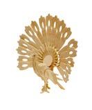 πουλί ξύλινο Στοκ Φωτογραφίες