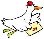 πουλί ταχυδρομικό Στοκ Φωτογραφίες