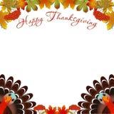 Πουλί της Τουρκίας για τον ευτυχή εορτασμό ημέρας των ευχαριστιών Στοκ εικόνα με δικαίωμα ελεύθερης χρήσης