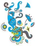 Πουλί του Φοίνικας ελεύθερη απεικόνιση δικαιώματος