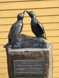 2 πουλιά στοκ εικόνα
