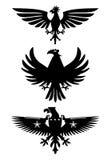 πουλιά εραλδικά Στοκ Φωτογραφίες