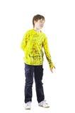 πουλόβερ κίτρινο Στοκ Φωτογραφία
